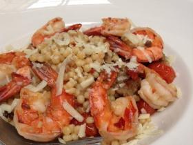 Sardinian Style Shrimp Fregola