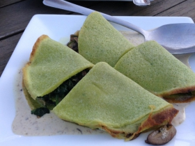 Chive Crepe