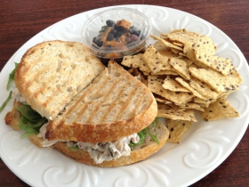 Herb Roasted Chicken Panini