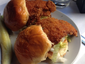 Crunchy Chicken Sliders
