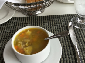 La Scala's Famous Chicken Pastini Soup
