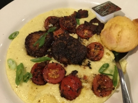 Blackened Shrimp and Grits