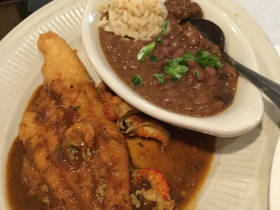 Fried Catfish Etouffee