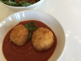Arancini and Roasted Roots