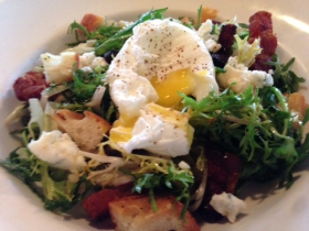 Pastiche: Salade Lyonnaise After