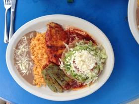 El Canaveral: Tampiquena with Chicken