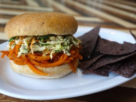 Urban Beets Cafe & Juicery: 'Pulled' BBQ Carrot