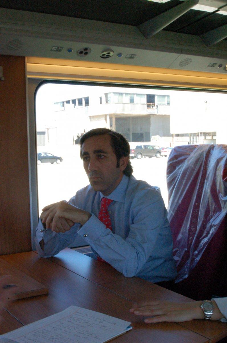 Talgo CEO Antonio Perez.