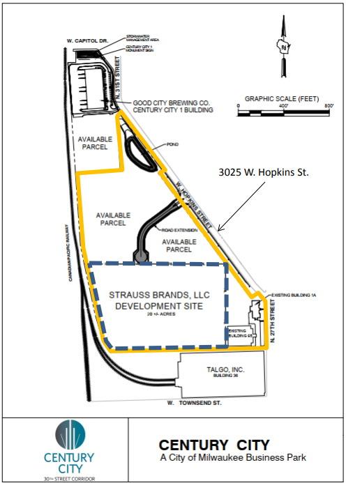 Strauss Site Plan