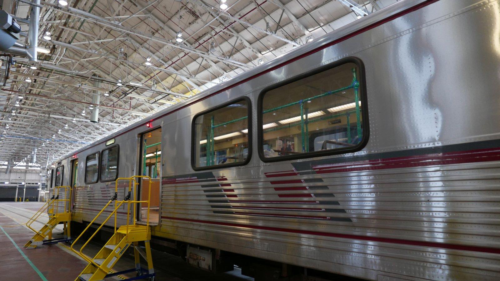 Railcar to refurbish