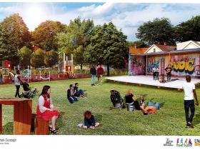 Century City Triangle Neighborhood Park Concept