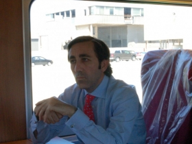 Talgo CEO Antonio Perez. Photo by Brendan Murphy taken May, 2012 - All Rights Reserved