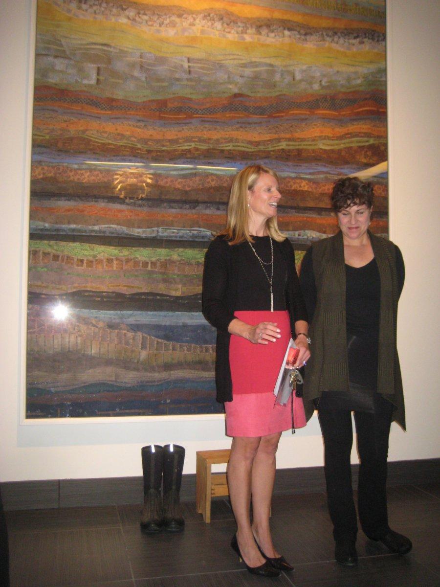 Ann Pieper Eisenbrown and Terese Agnew.