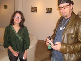 Debra Brehmer and Clive Promhows.