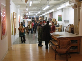 Gallery Night, October 2014.