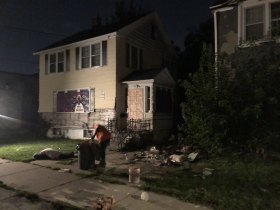 Illegal Dumping Cleanup in Garden Homes Neighborhood