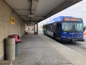MCTS Drop Off Spot at Airport
