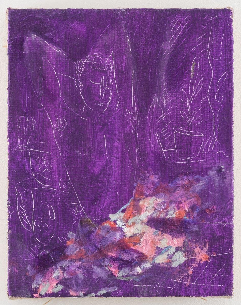 Painting by Mari Eastman