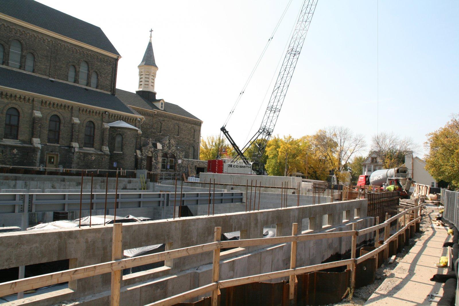 Parish Center Construction