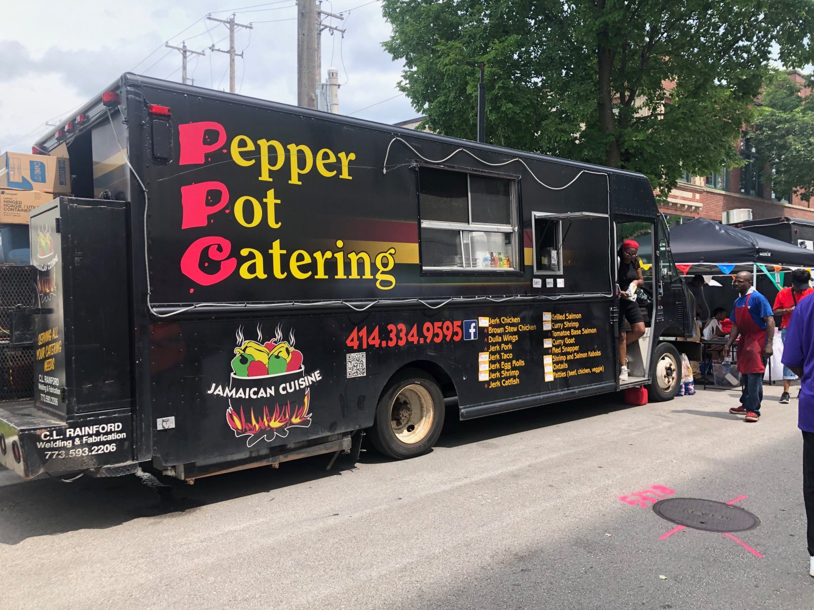 Pepper Pot Catering at Garfield Avenue Festival