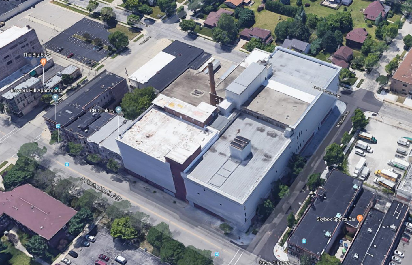 Aerial Image of Schuster\'s Complex