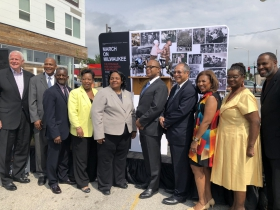 Vel R. Phillips Avenue Ceremony