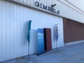 Gimbels Signage