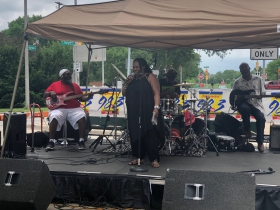 Opening Band at Garfield Avenue Festival