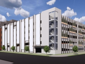 Conceptual Rendering - MCW/GMF Parking Garage