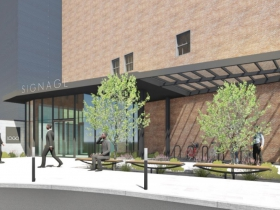 Conceptual Rendering - Schuster's Redevelopment Entrance