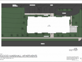 Thurgood Marshall Apartments Site Plan