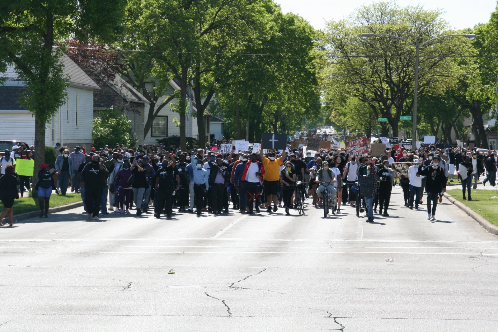 Marching East on Locust
