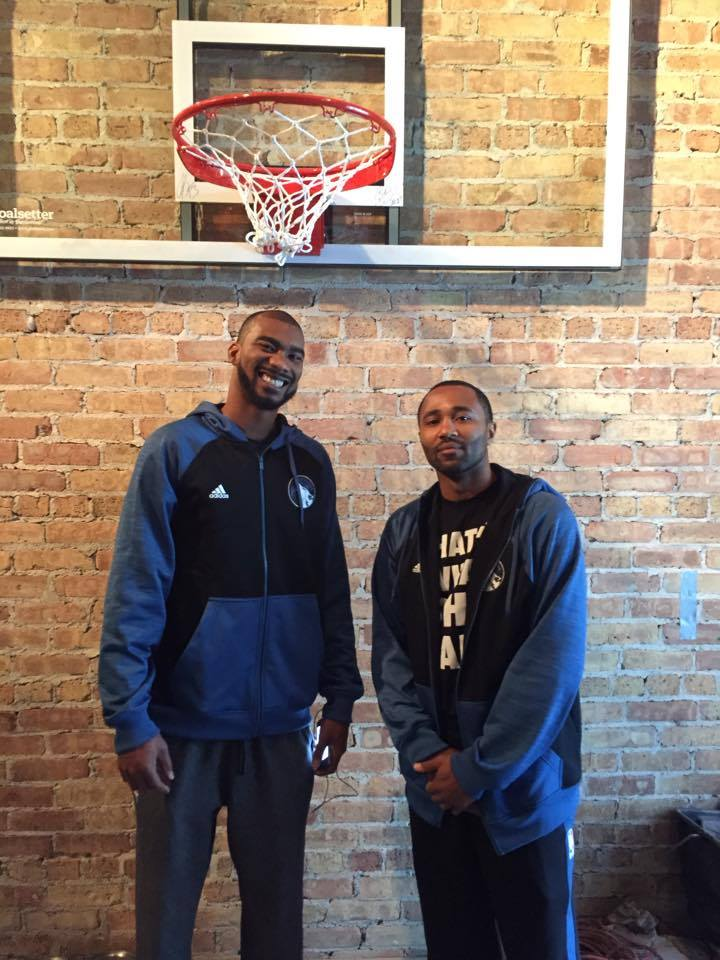 Mo Williams and Corey Brewer