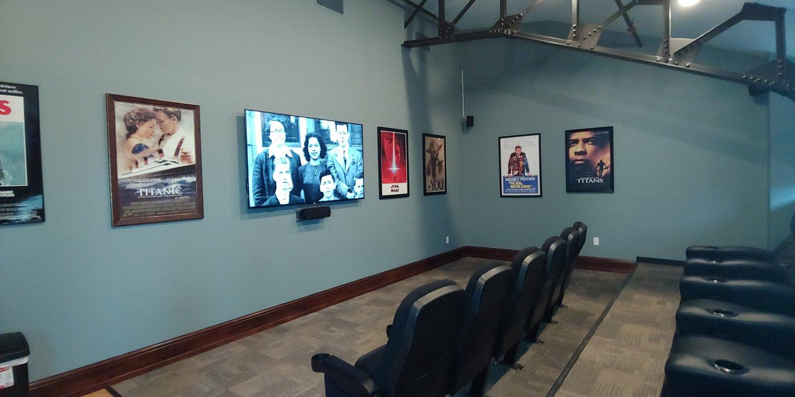 Welford Sanders Lofts community room