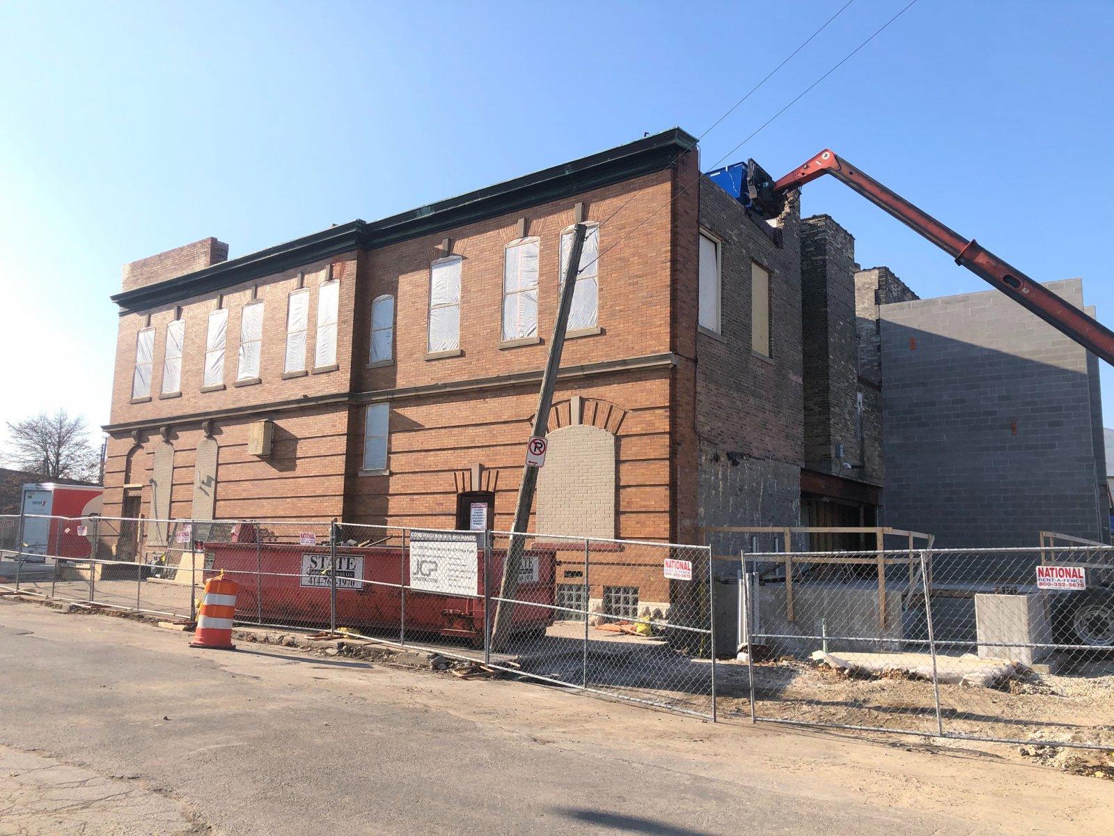 Sam\'s Place Construction