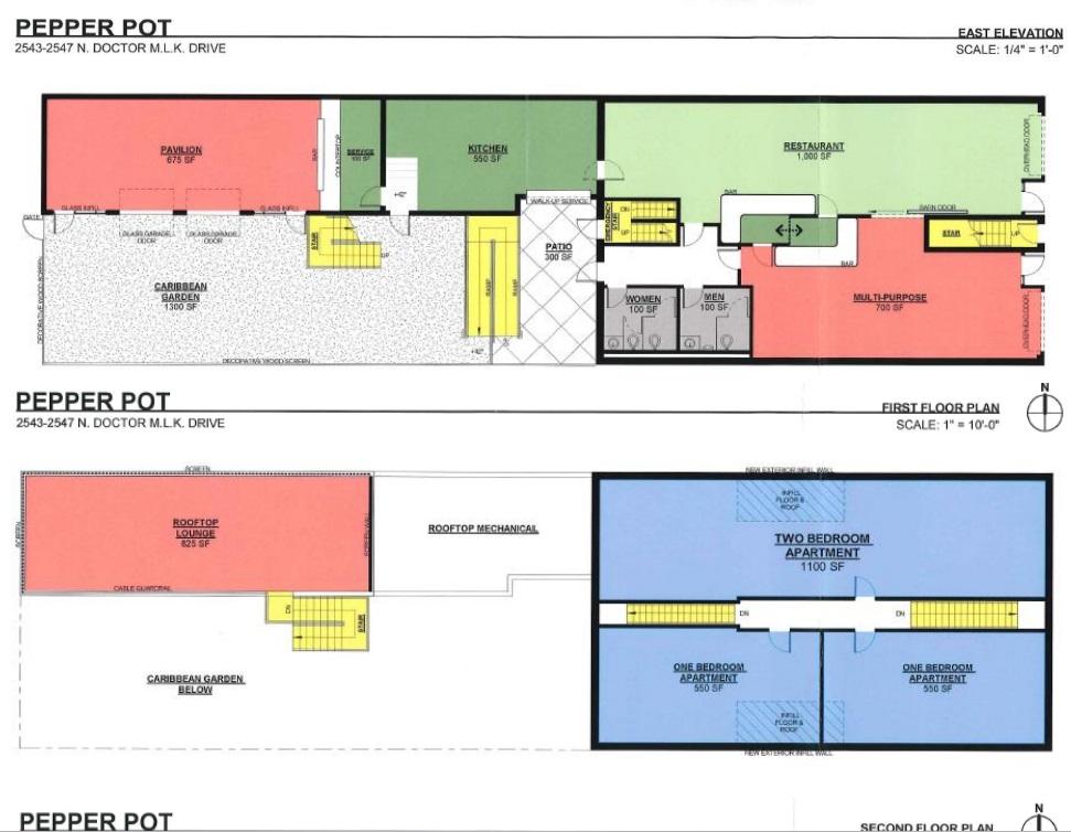 Pepper Pot Floor Plan
