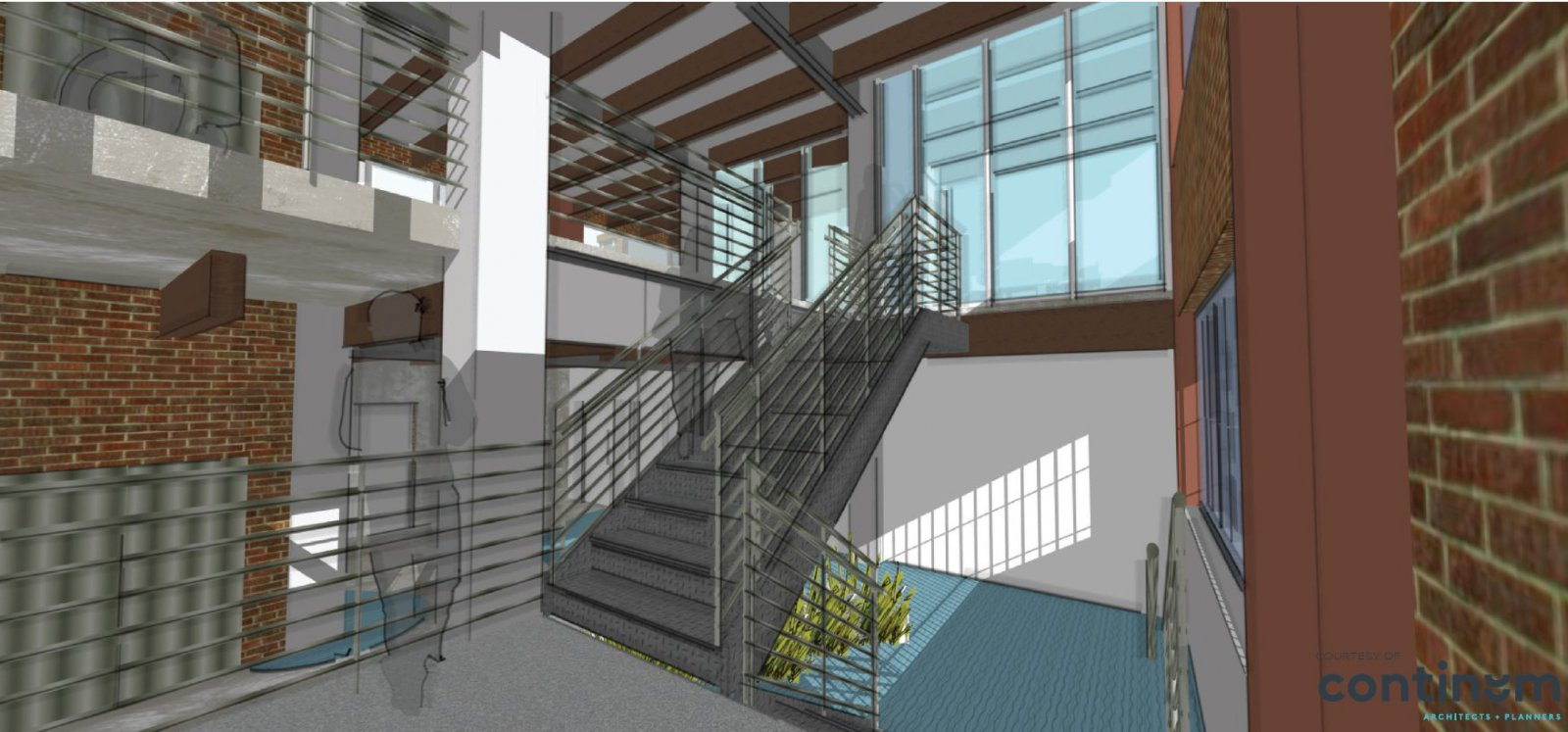 Welford Sanders Lofts Rendering