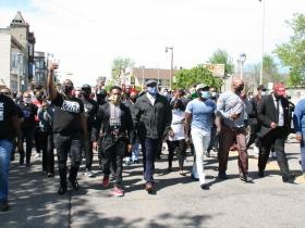 Pastors Leading March