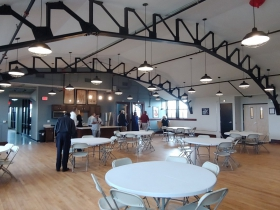 Welford Sanders Lofts community room