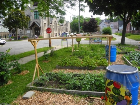 Community garden at All Peoples Church