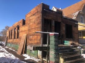 3041 N. 6th St. Under Deconstruction
