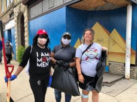 Tangela Wilson, Pamela Bell, Becky Wade