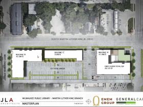 MLK Library Site Plan - 2021
