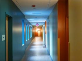 Hallway inside of Maskani Place.
