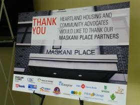 Maskani Place partners.