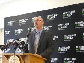 Michael Goldberg, Executive Director of Heartland Housing