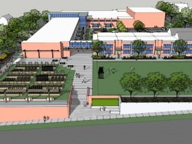 St. Marcus School's proposed design for Malcolm X Academy