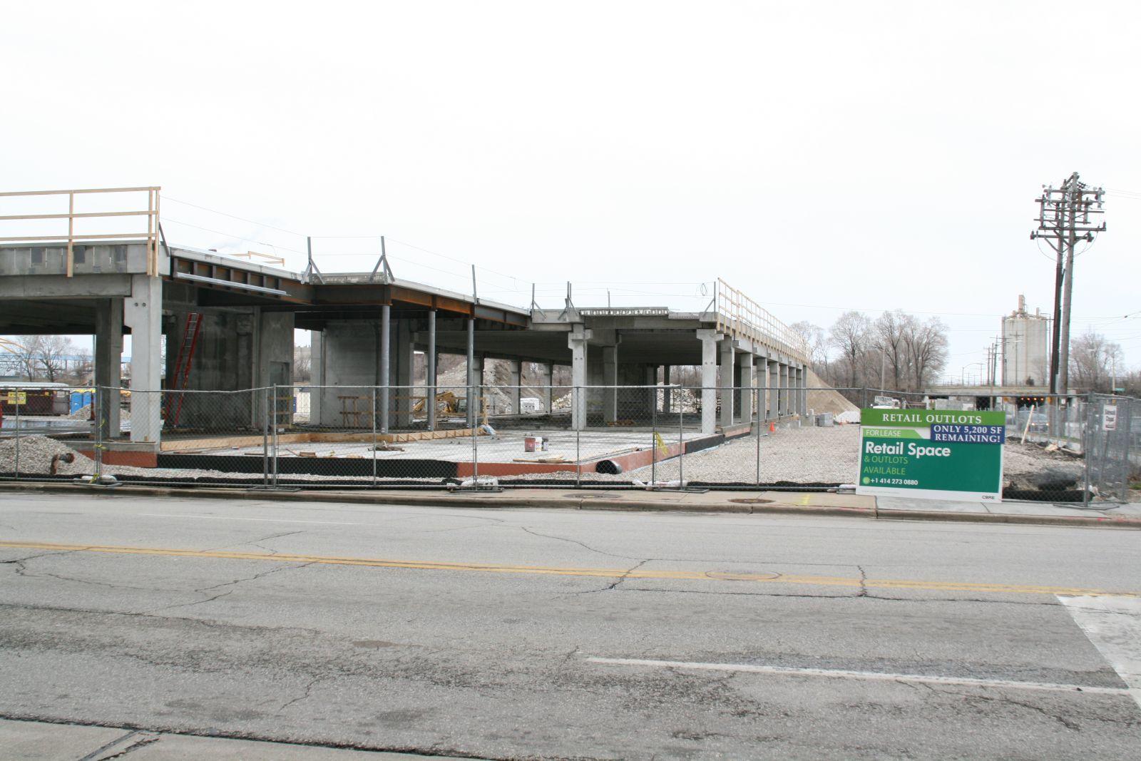 Freshwater Plaza Construction