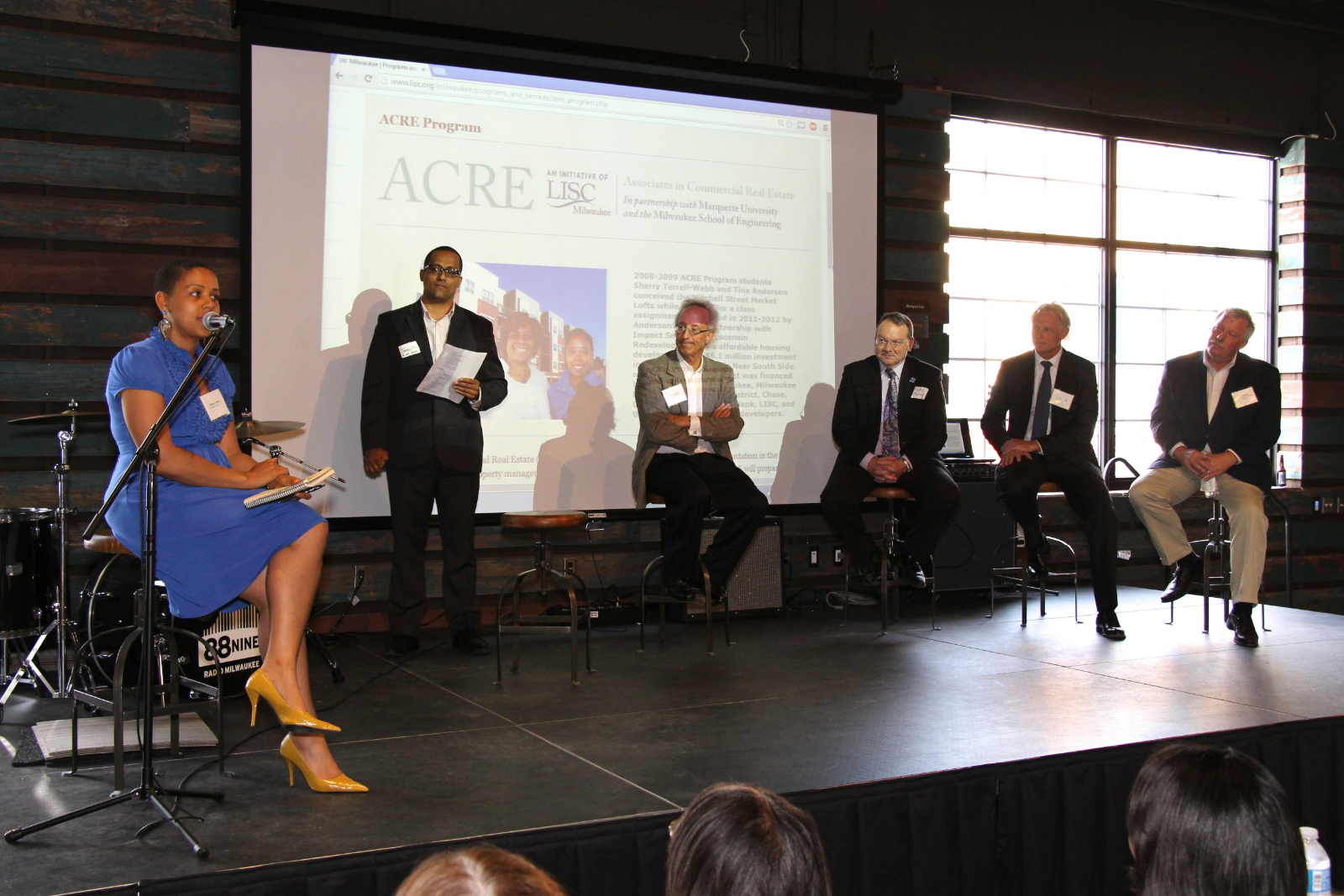 All of the speakers at ACRE event.