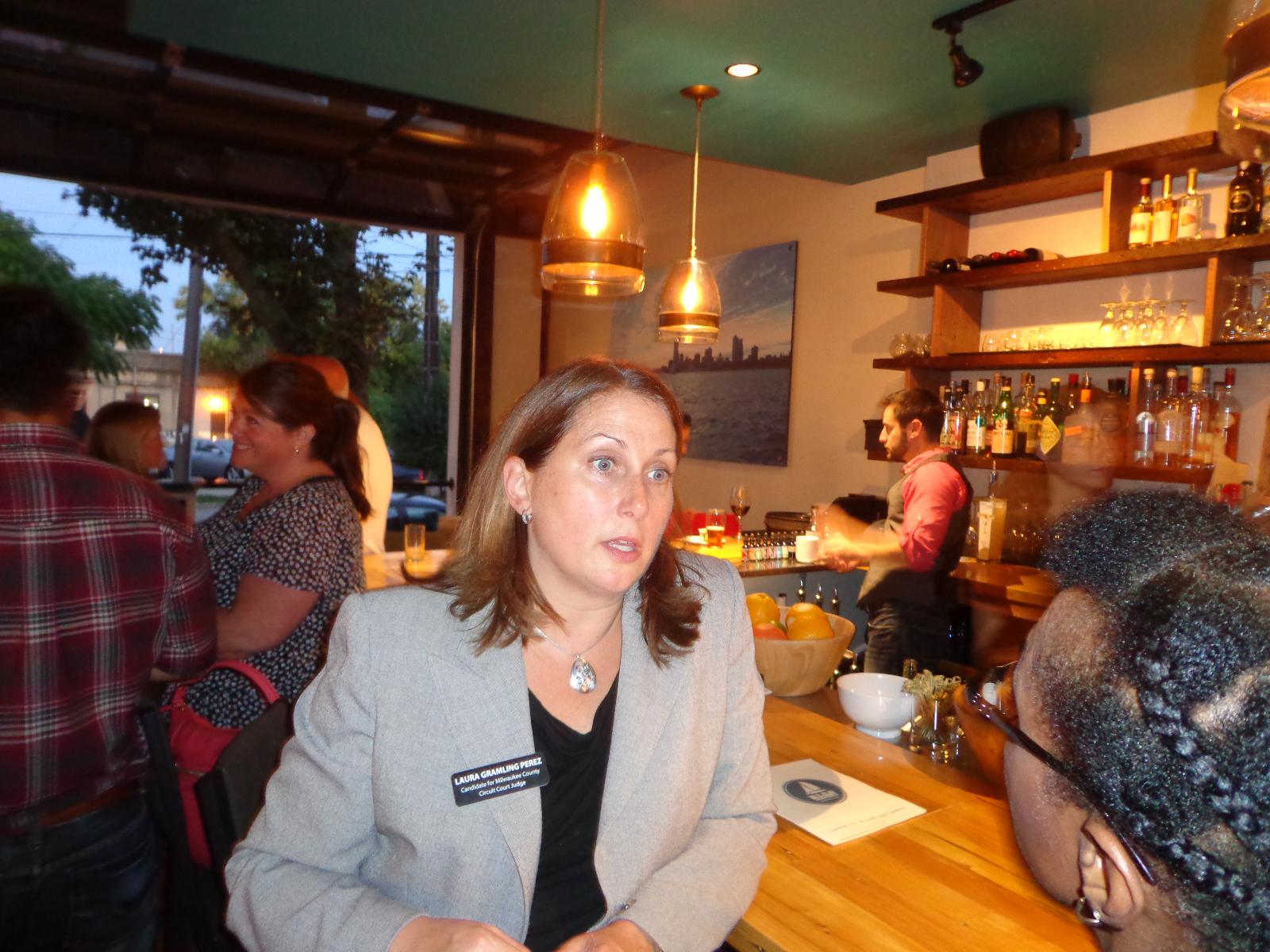 Laura Gramling Perez, Chief Court Commissioner.